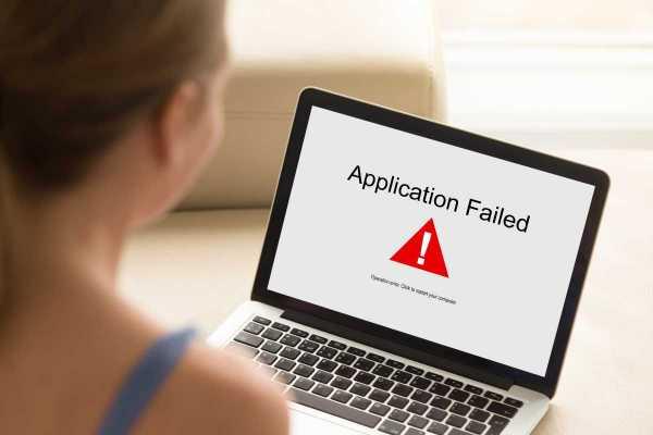 Application Failed