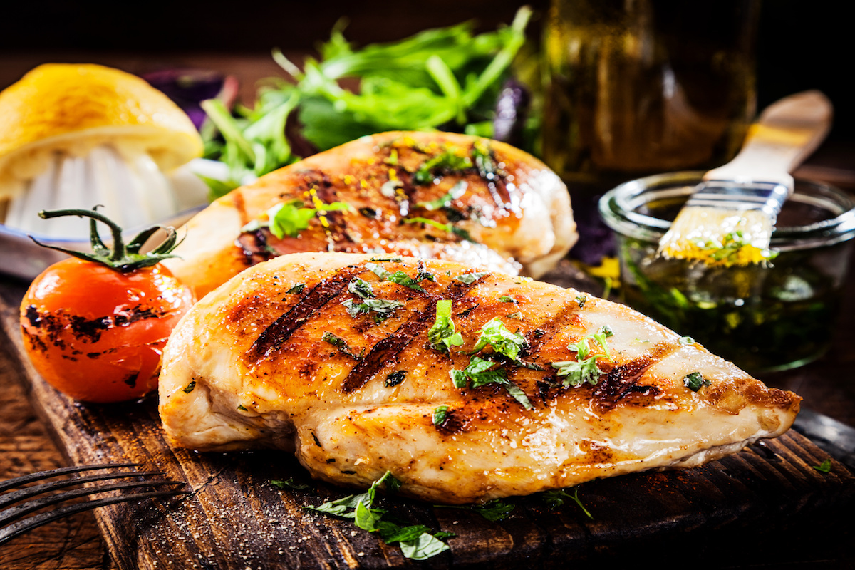 Grilled Chicken Breast by Hilltop Acres