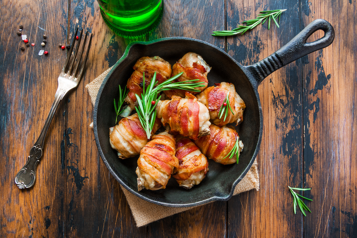 Bacon Wrapped Chicken by Hilltop Acres