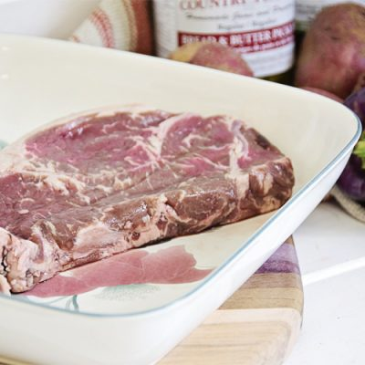 Beef - Striploin Steak by Hilltop Acres Poultry Products