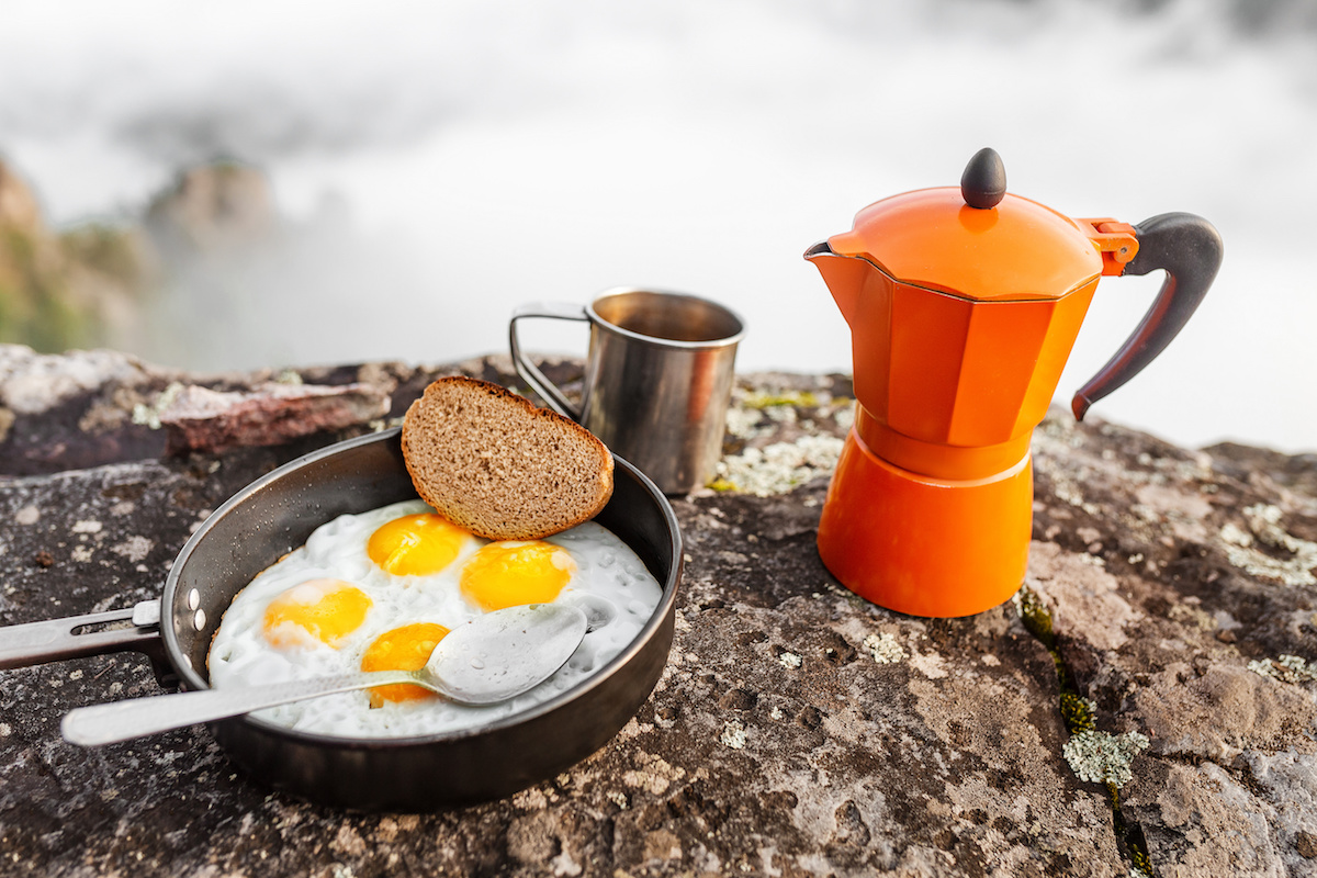Camping Breakfast Ideas by Hilltop Acres