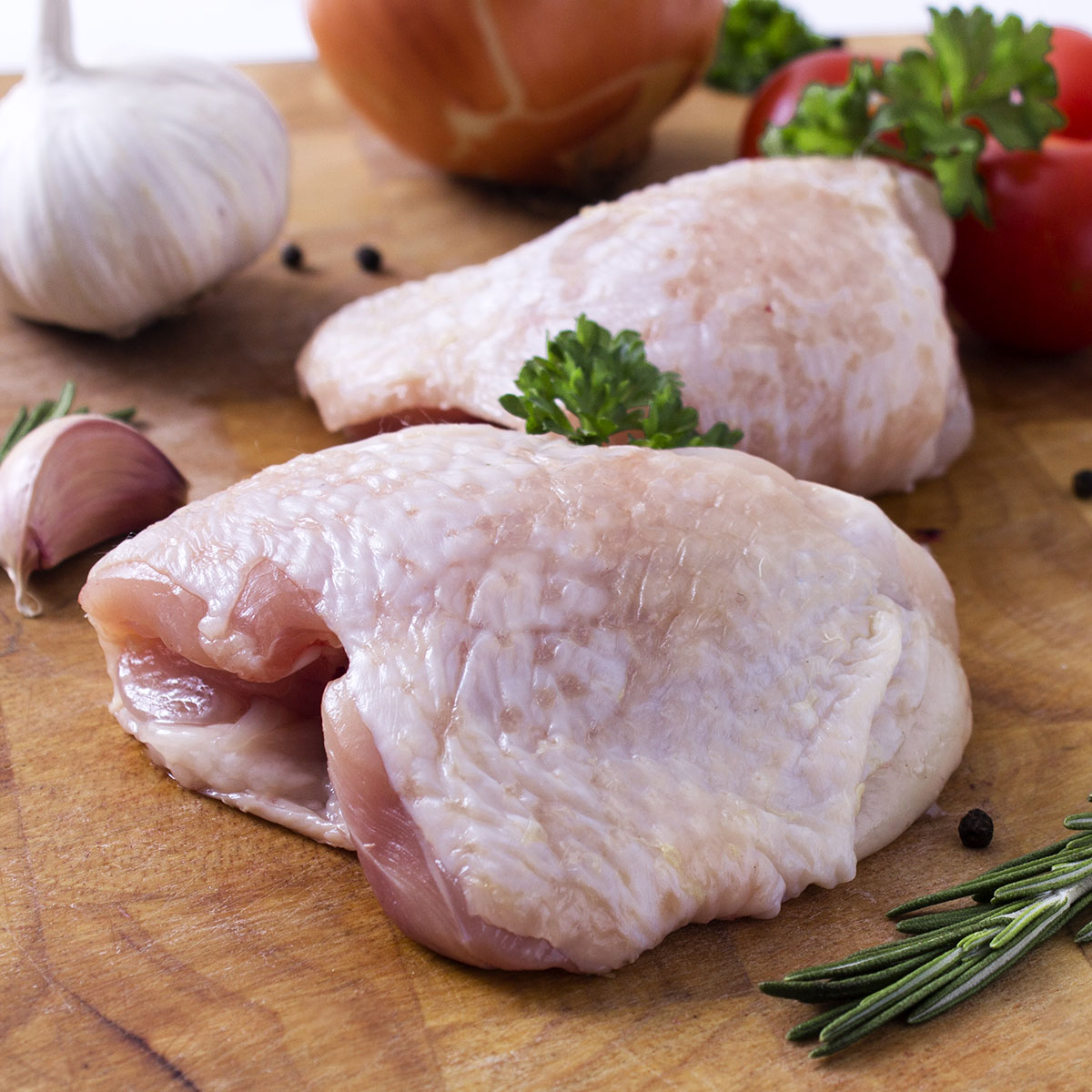 Chicken Thighs by Hilltop Acres Poultry Products