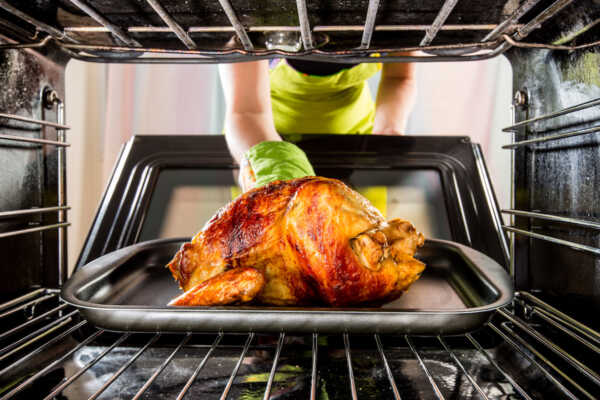 Chicken in Oven by Hilltop Acres