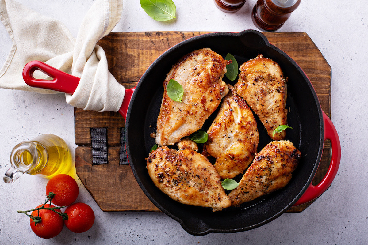 Cooked Chicken Breast by Hilltop Acres