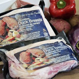 Duck - Frozen Boneless Duck Breast by Hilltop Acres Poultry Products