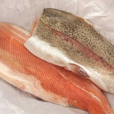 Fresh Rainbow Trout by Hilltop Acres