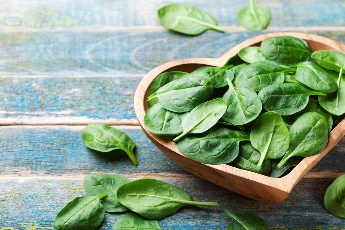 Fresh Spinach by Hilltop Acres