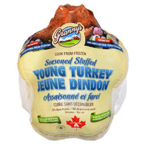 Granny's Stuffed Turkey from Hilltop Acres Poultry