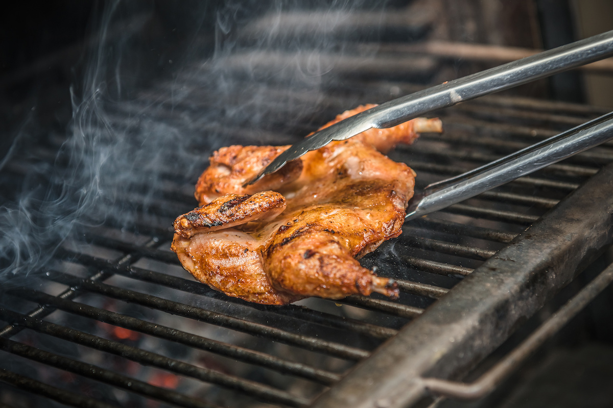 Grilling Whole Chicken by Hilltop Acres
