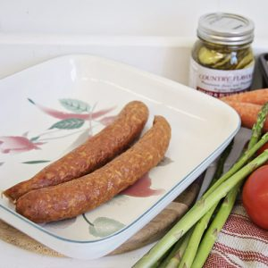 Honey Garlic Turkey Sausage by Hilltop Acres Poultry Products