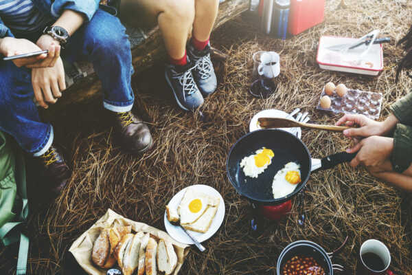 Ideas for Camping Food By Hilltop Acres