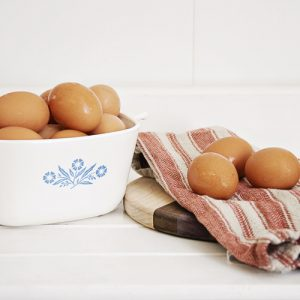 Large Brown Eggs by Hilltop Acres Poultry Products