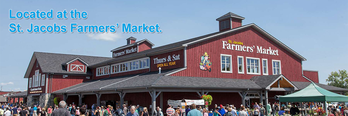 Located at the St. Jacobs Farmers' Market. - Hilltop Acres Poultry Products