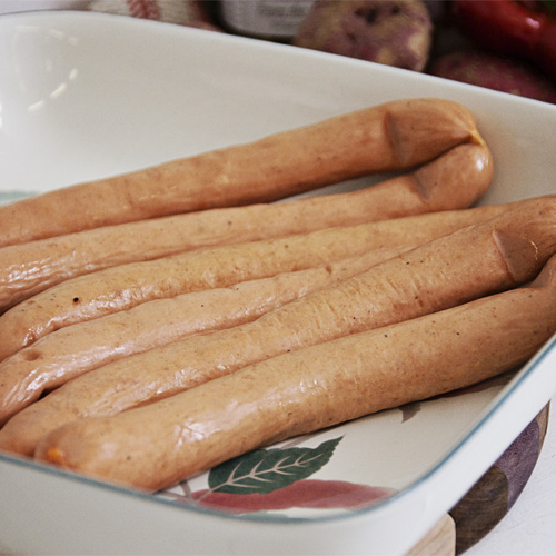 Processed Meat - Turkey Wieners by Hilltop Acres Poultry Products