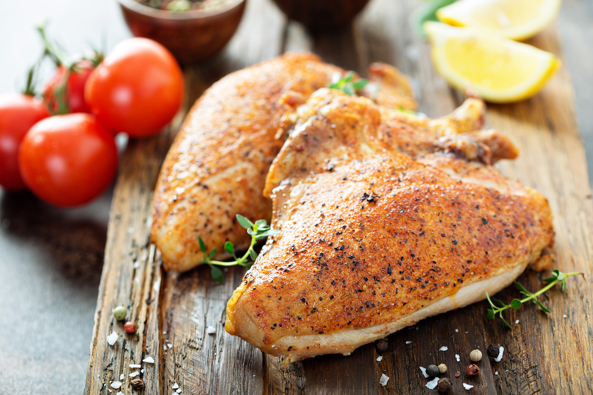 Roasted Chicken Breast by Hilltop Acres