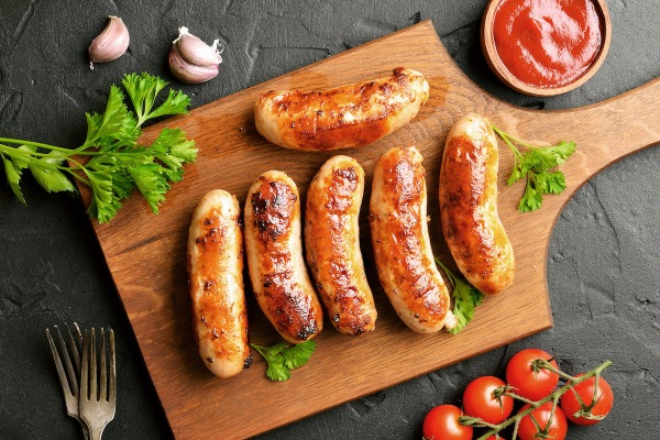 Sausage In The Oven With Hilltop Acres