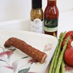 Smoked Dark Turkey Sausage by Hilltop Acres Poultry Products