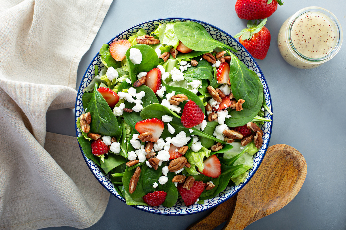Spinach Salad by Hilltop Acres