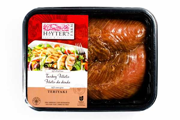 Teriyaki Turkey Steaks by Hilltop Acres Poultry Products