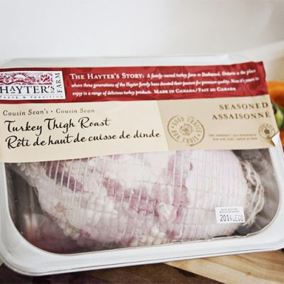 Turkey - Hayter Oven Ready Turkey Thigh Roll by Hilltop Acres Poultry Products