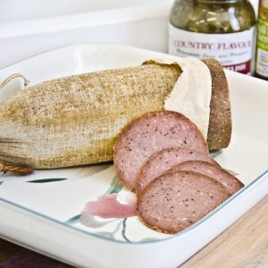 Turkey Summer Sausage by Hilltop Acres Poultry Products