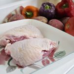 Turkey - Turkey Thighs Bone In by Hilltop Acres Poultry Products