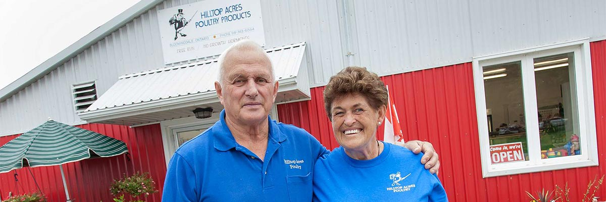 Visit Don and Karen Reist at Hilltop Acres Poultry Products